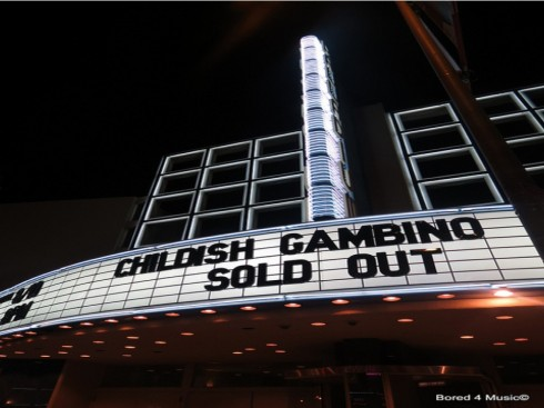 Childish Gambino At The Hollywood Palladium
