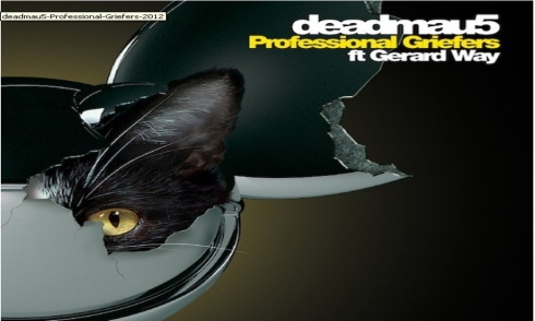 deadmau5 - gerard way - professional griefers - single cover