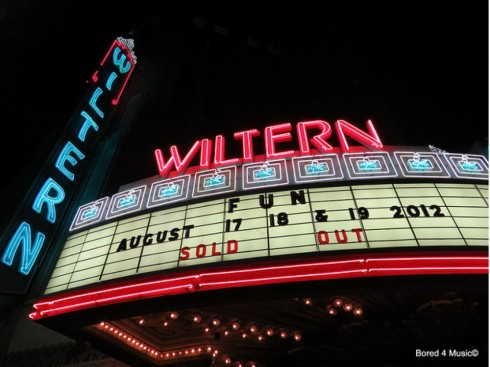 Fun at Wiltern (08-17-12)