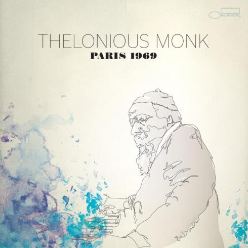 Thelonious Monk Paris 1969 Album Cover