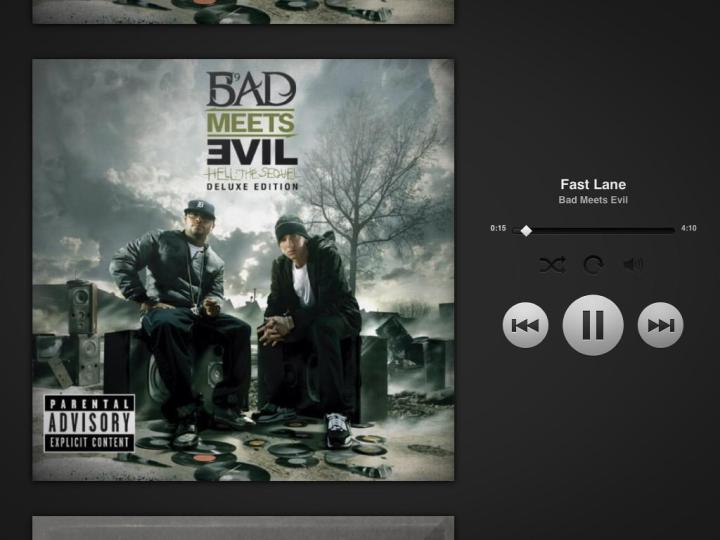 fast-lane-bad-meets-evil-royce-da-59-eminem-spotify-screengrab-2014-1st-song-of-the-day