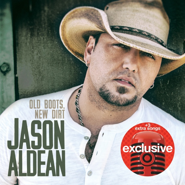 Jason Aldean old boots new dirt target album cover excl. cover