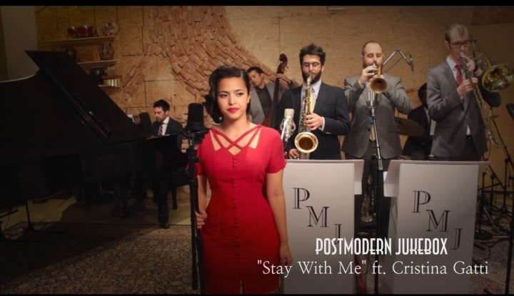 stay-with-me-sam-smith-postmodern-jukebox-Cristina Gatti-cover-2014