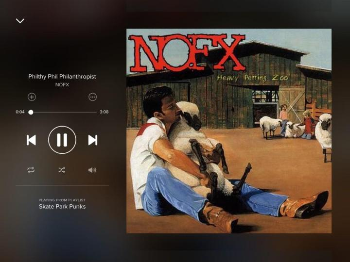 nofx-philthy-phil philanthropist-spotify-screengrab