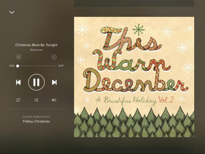 christmas-must-be-tonight-bahamas-spotify-screenshot