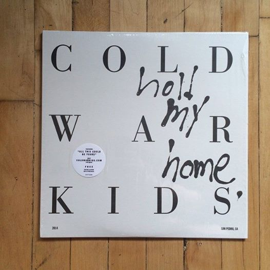 Cold War Kids Hold My Home Vinyl