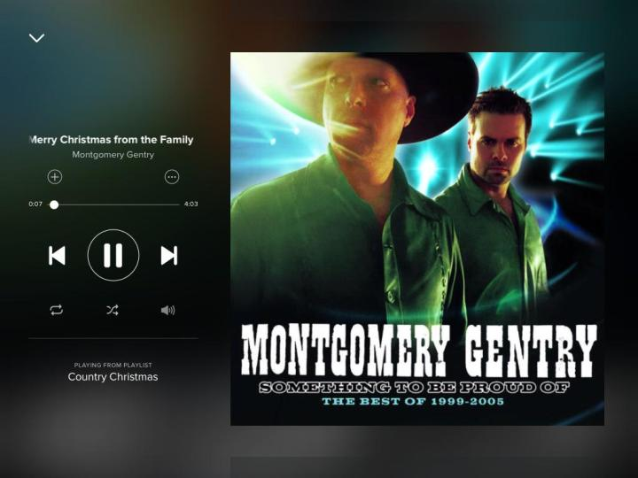 bored4musicnightsmerry christmas from the family montgomery gentry - Montgomery Gentry Merry Christmas From The Family