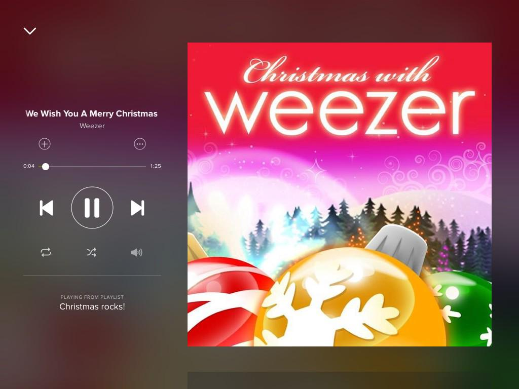 Permalink to weezer we wish you a merry christmas