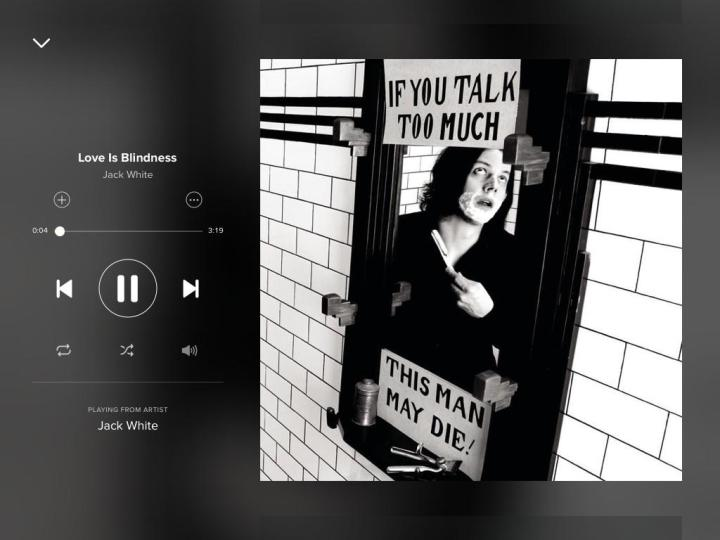jack-white-love-is-blindness-spotify-screenshot