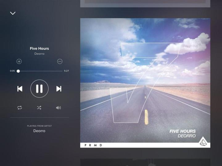 deorro-five-hours-spotify-screenshot