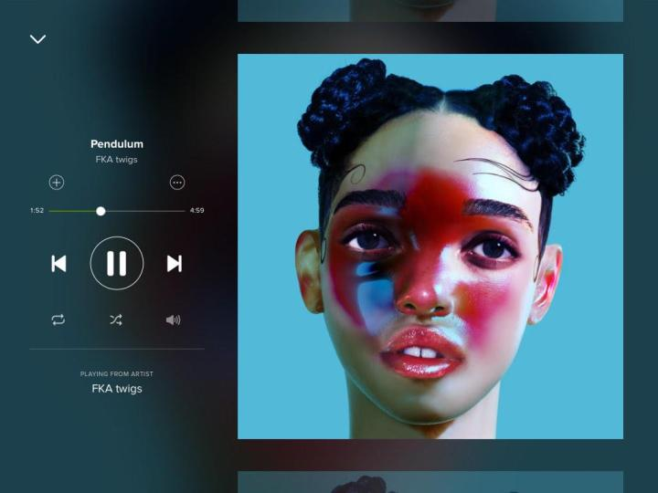 fka twigs-pendulum-spotify-screengrab