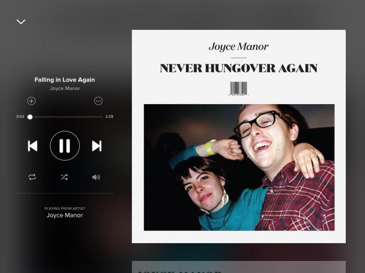 falling-in-love-again-joyce-manor-spotify-screenshot