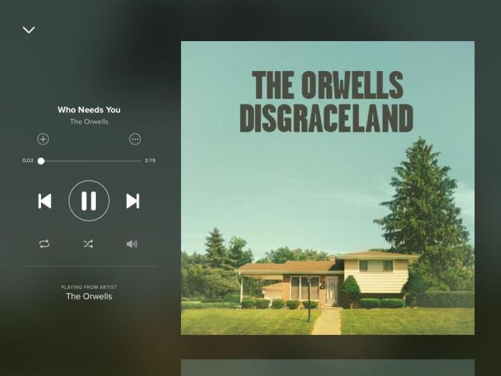 The-orwells-Who-Needs-You-Spotify-Screenshot
